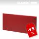 Glamox H30 rdeči - električni radiator