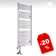 Električni kopalniški radiator - VIGO EHR Krom Ravni
