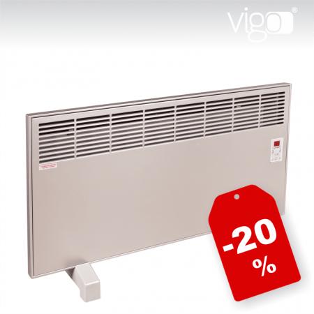 Samostoječi električni radiator - Vigo EPK inox