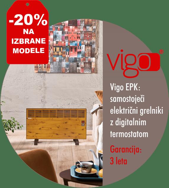 Samostoječi električni radiatorji - VIGO EPK