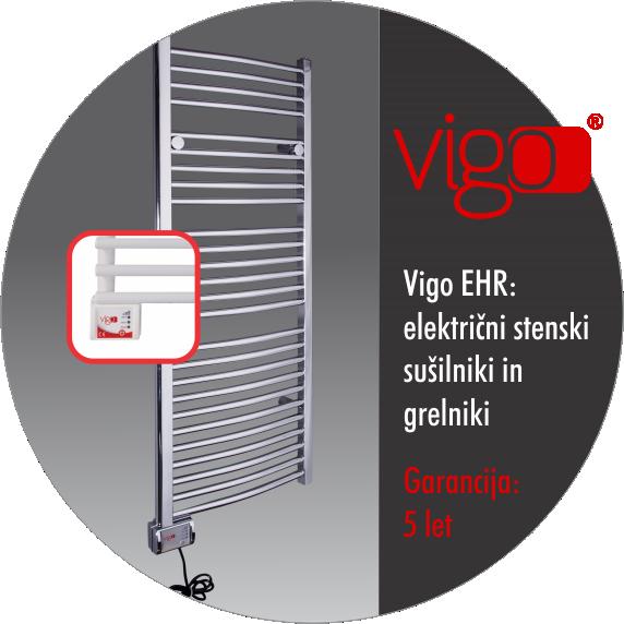 Električni kopalniški radiatorji - VIGO EHR