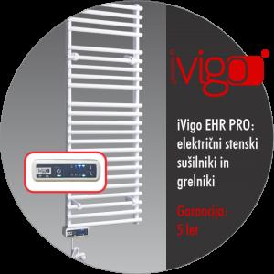 iVigo EHR PRO - kopalniški radiatorji