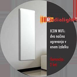 Radialight ICON Wifi - konvekcijski in IR grelniki
