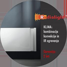 Radialight KLIMA - konvekcijski in IR grelniki
