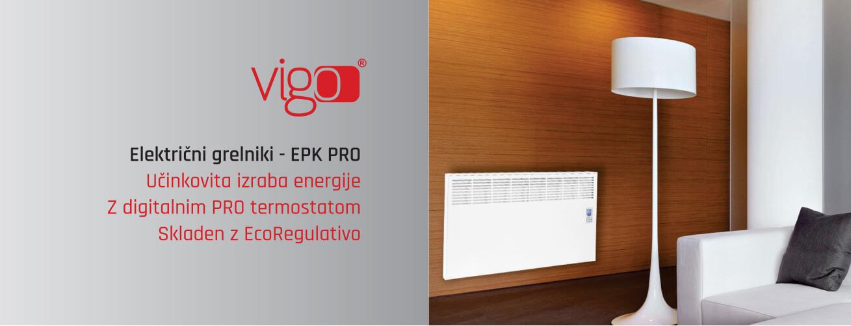 VIGO EPK PRO električni grelniki