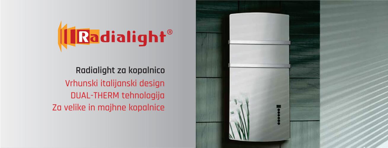 Radialight električni radiatorji za kopalnico