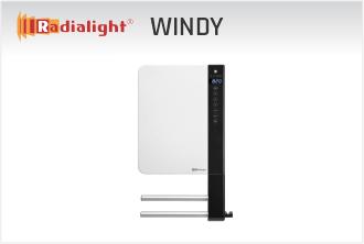 Radialight WINDY - mini grelnik za kopalnico