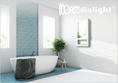 Radialight QUADRO VISIO - Kopalniški grelni z ogledalom 1