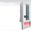 Radialight QUADRO VISIO - Kopalniški grelni z ogledalom 2