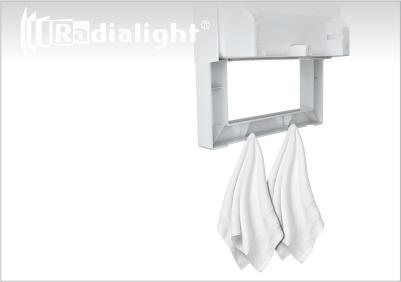 Radialight QUADRO VISIO - Kopalniški grelni z ogledalom 3