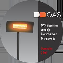Radialight OASI - zunanje IR ogrevanje