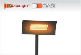 Trgovina - Radialight OASI - Zunanji IR grelnik