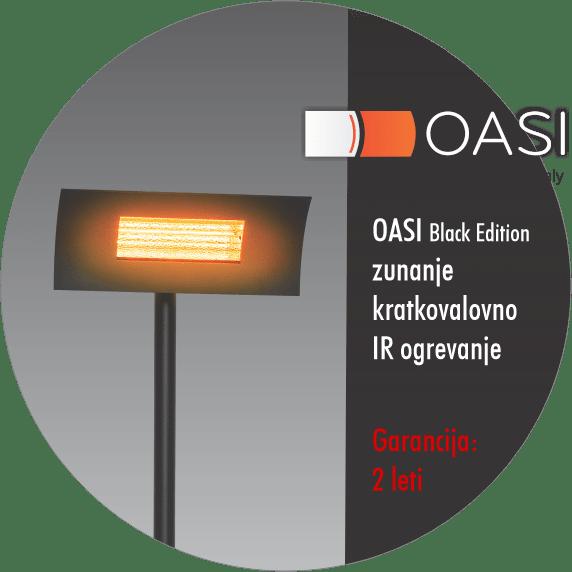 Zunanji IR grelnik - Radialight OASI