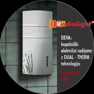 Radialight DEVA - Kopalniški električni radiator